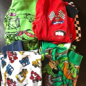 Other - 4 pairs boys pjs size 7